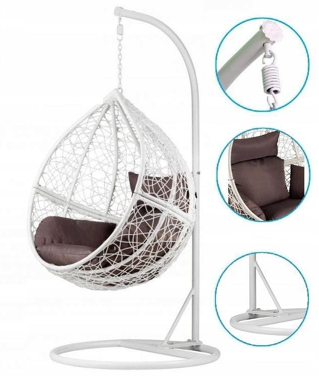 viseči sedeži in stoli