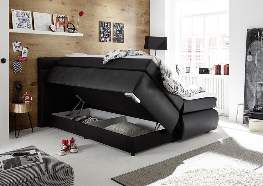 Boxspring postelja shranjevanje