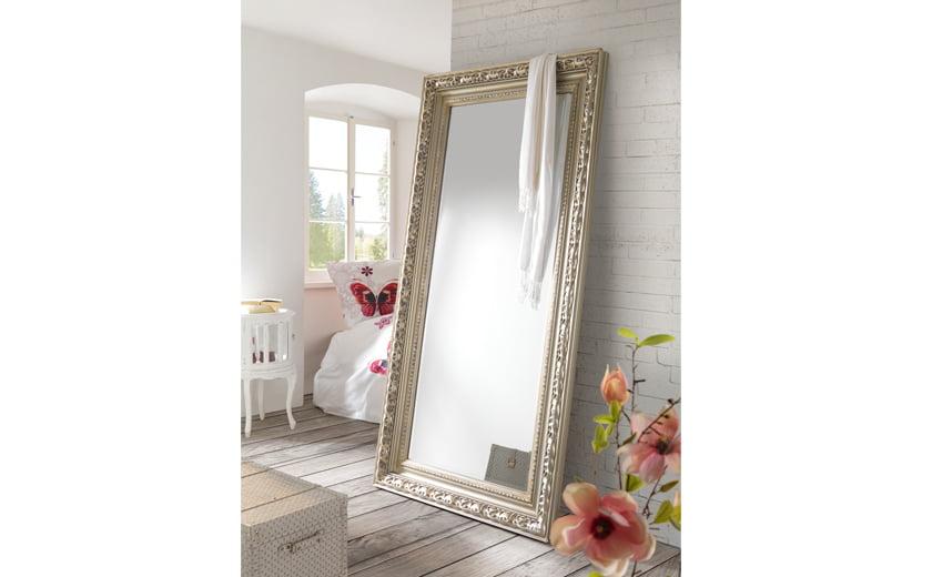 Ogledalo starinsko stoječe okvir dekor