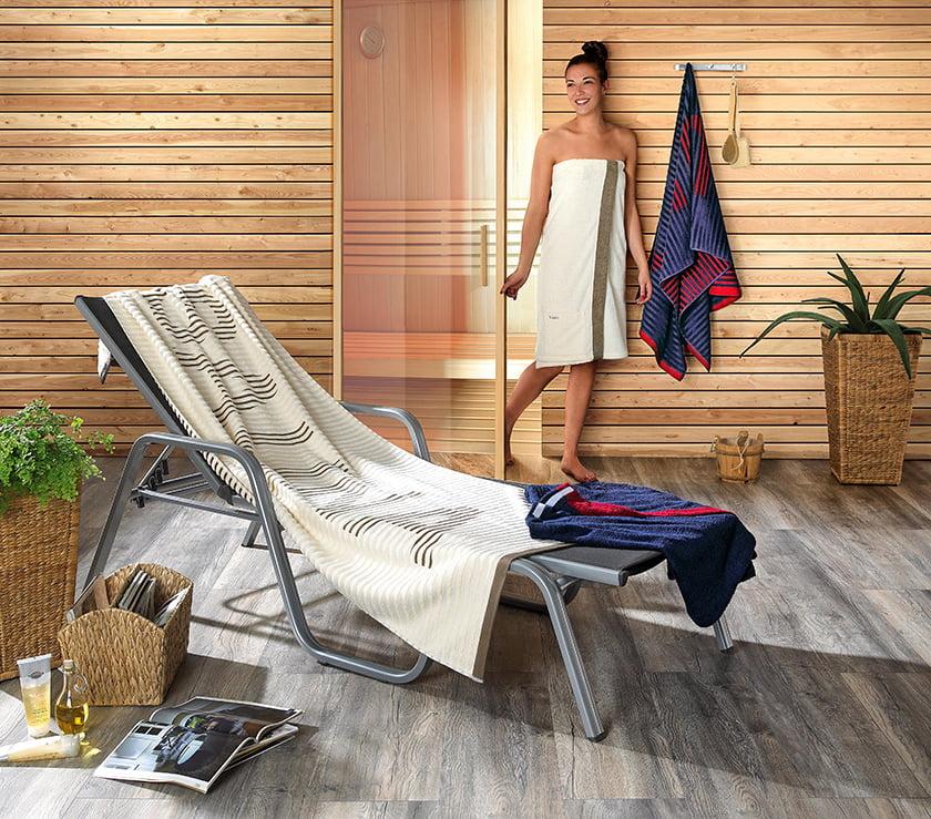 kopalniški tekstil brisače za na plažo in savno
