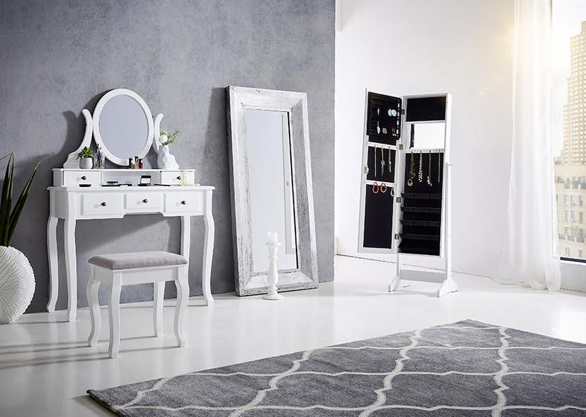 Kozmetične mize - kozmetične mizice - Kozmetika in ličila bodo na varnem