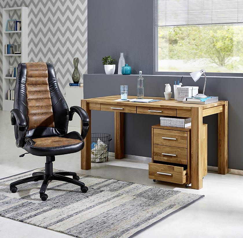 pisarniško pohištvo les usnje dodatki