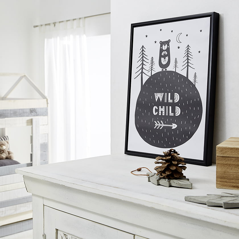 slika otroška soba motiv dekor