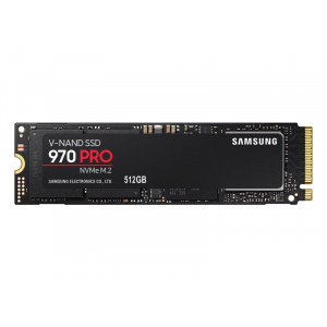 Samsung 512GB 970 Pro SSD NVMe/PCIe M.2 disk