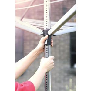 Brabantia zunanji sušilnik Lift-O-Matic za perila 50m sivo - Brabantia zunanji sušilnik Lift-O-Matic za perila 50m Zunanji sušilnik za perilo