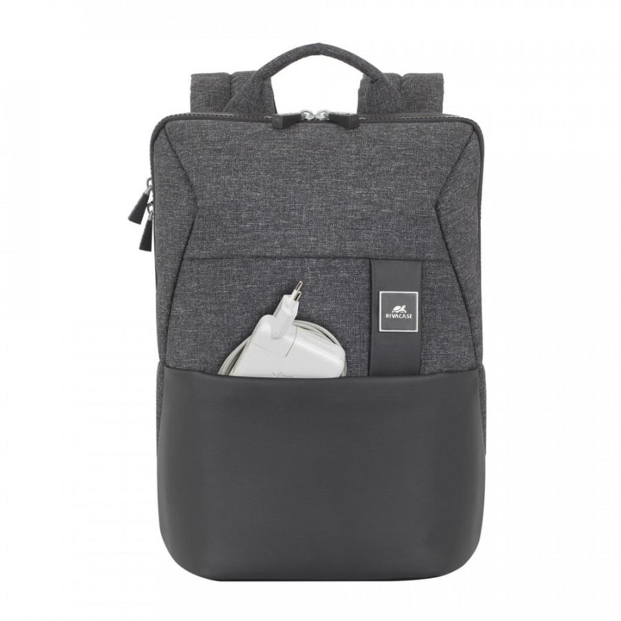 """RivaCase nahrbtnik za prenosnik MacBook Pro in ostale Ultrabooke 13.3"""" 8825 črn • Idealno za poslovna potovanja• Izdelano iz visokokakovostnega"""