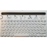 Tipkovnica Logitech Cordless K480 Wireless Bluetooth SLO gravura bela (pametni telefon