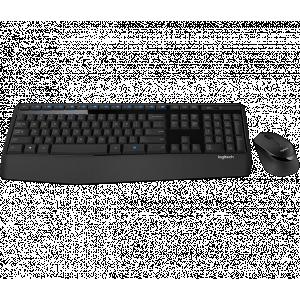 Tipkovnica +MIŠ Logitech Brezžična Desktop MK345 Combo