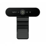 Logitech WEB Kamera Logitech BRIO 4K - Napredna spletna kamera Logitech BRIO bo poskrbela za profesionalno kakovost vaših video prenosov