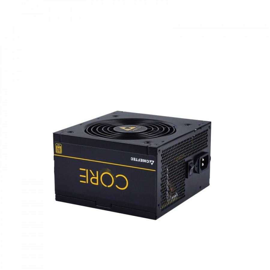 Chieftec Core Series 700W GOLD ATX napajalnik - MOČ: 700WPRIKLJUČKI:1x (20+4)-pin Motherboard Connector 1x (4+4) +12V CPU Connector 4x (6+2)-pin PCI-E
