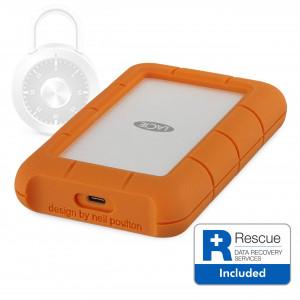 LaCie 2TB  Rugged SECURE USB-C - LaCie Rugged SECURE USB-C
