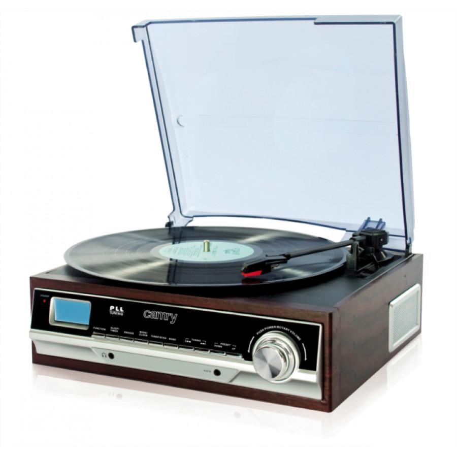 Vintage gramofon AUX/FM