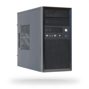 Chieftec CT-01B-350GPB 350W USB3 mATX ohišje z napajalnikom