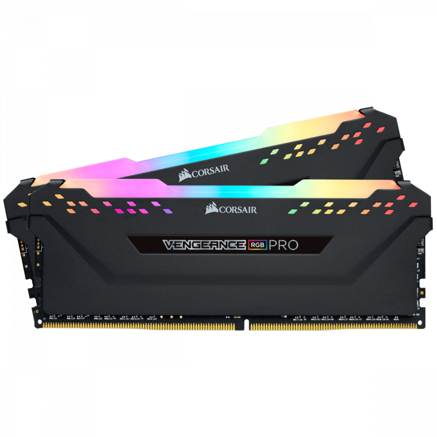 Corsair VENGEANCE RGB PRO 16GB (2 x 8GB) DDR4 DRAM 3200MHz PC4-25600 CL16