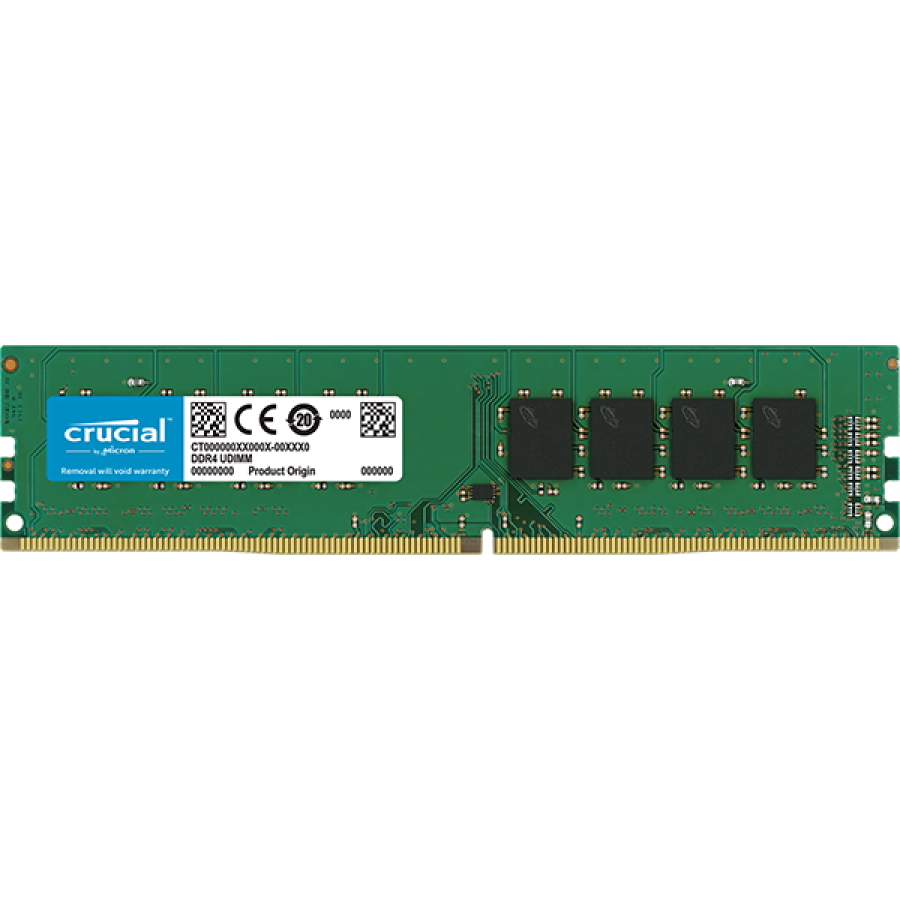 Crucial 16GB DDR4-2666 UDIMM PC4-21300 CL19