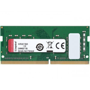 Kingston 8GB DDR4-2400MHz SODIMM PC3-19200 CL17
