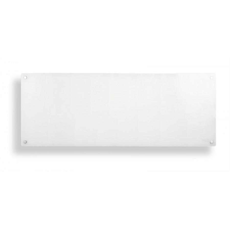 """MILL konvekcijski panelni radiator 1200W bel steklo MB1200DN - """"Ogravanje s stilom"""". Mill panelni grelnik 1200w bel jeklo Aluminijski grelni element - visoka"""