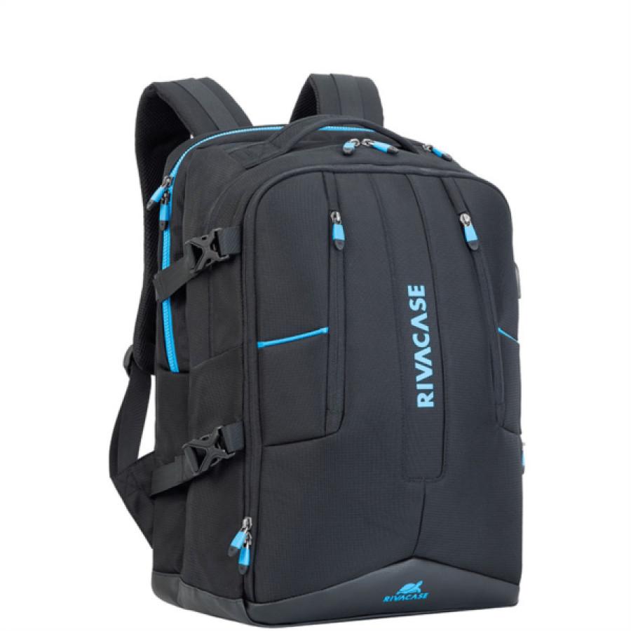 Rivacase gaming nahbrtnik 17.3'' črn 7860 - 17.3'' Nahrbtnik za prenosni računalnik.Lastnosti proizvoda: • Večnamenski nahrbtnik je posebej zasnovan za