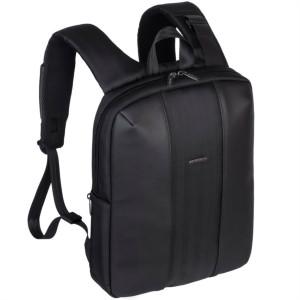 """RivaCase črn nahrbtnik za prenosnik 14"""" 8125 black - 14'' Nahrbtnik za prenosni računalnik. Lastnosti proizvoda: • Lahki urbani nahrbtnik za prenosne"""