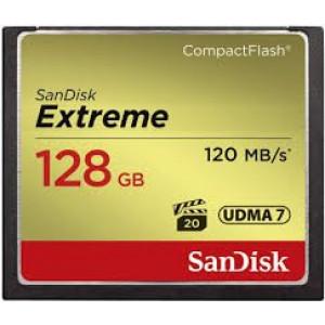 SanDisk 128GB Compact Flash Extreme UDMA7 - tip: Compact Flashkapaciteta: 128GBhitrost:branje: do 120MB/spisanje: do 85MB/sadapter: nečitalec: nedodatno: