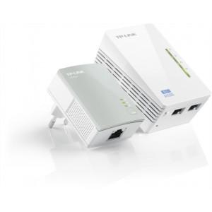 TP-LINK TL-WPA4220KIT 300Mbps AV600 WiFi Powerline Extender Starter Kit