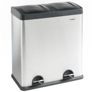 VonHaus koš za ločevanje odpadkov 60L