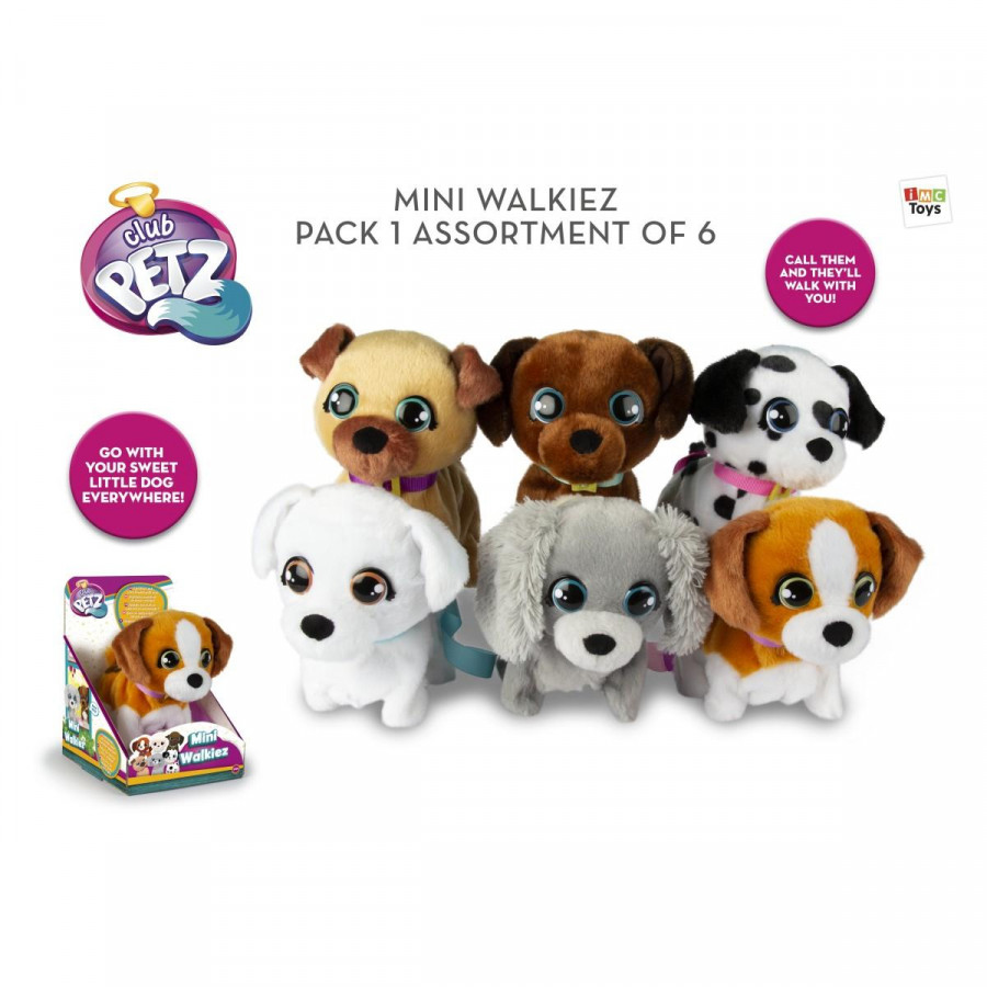 IMC TOYS Pliš Mini Walkiez 99814