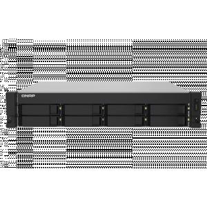 QNAP Nas strežnik TS-832PXU-RP za 8 × HDD - Rack NAS s štirijedrnim 1.7GHz procesorjem