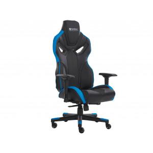 Sandberg Voodoo Gaming stol - modro/črn - Udobno se namestite v igričarski stol Sandberg Voodoo Gaming Chair in prevzemite nadzor nad svojo igro!Stol je
