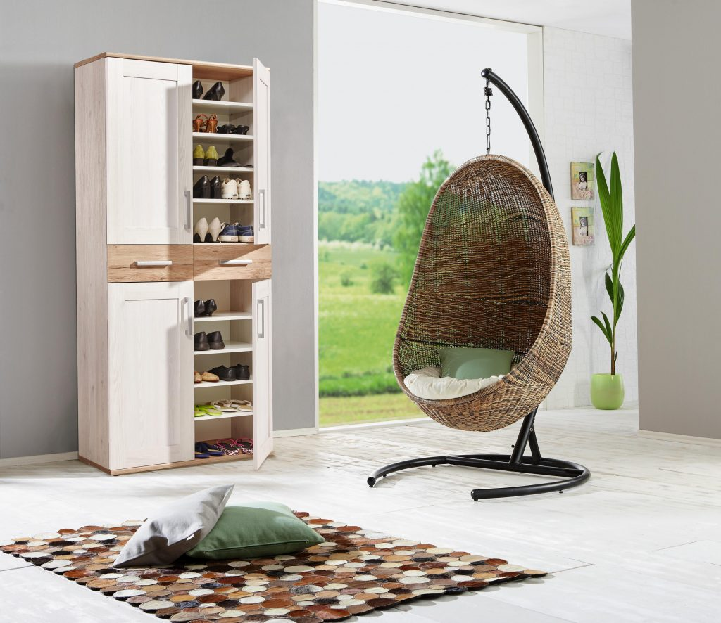 Garderobne omare in Regali in omare za čevlje za praktično in dovršeno predsobo
