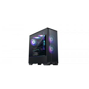 PHANTEKS ECLIPSE P360A TEMPERED GLASS D-RGB LED ATX črno ohišje
