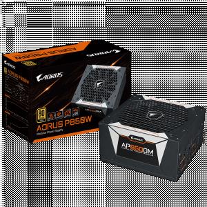 Gigabyte AORUS AP850GM GOLD modularni napajalnik - Moč: 850WVentilator: 1×13