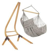 Comfort zunanji viseči stol DOMINGO Almond