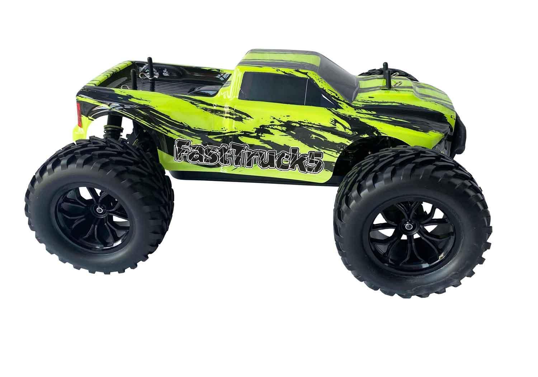 DF MODELS FASTTRUCK 5 BREZKRTAČNI MONSTER TRUCK 1:10 4WD RTR (60km/h)