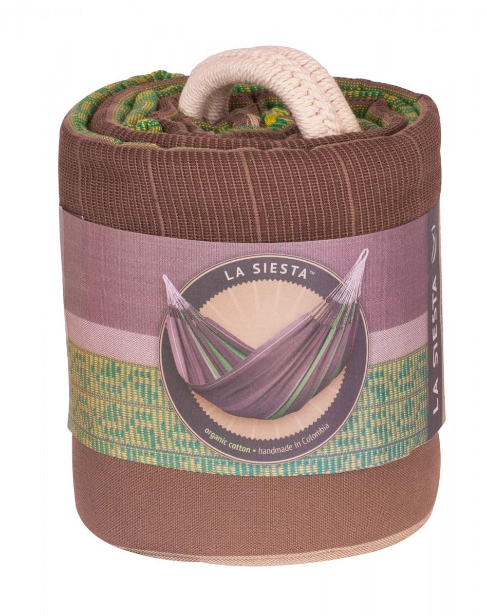 Družinska viseča mreža FLORA Chocolate