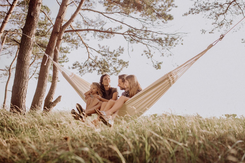 Družinska viseča mreža PARADISO Natura