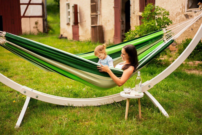 Družinska viseča mreža PARADISO Oliva