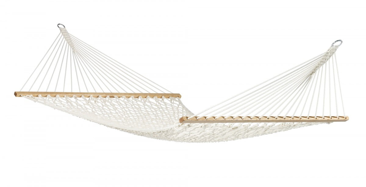 Elegantna družinska viseča mreža z robnimi palicami