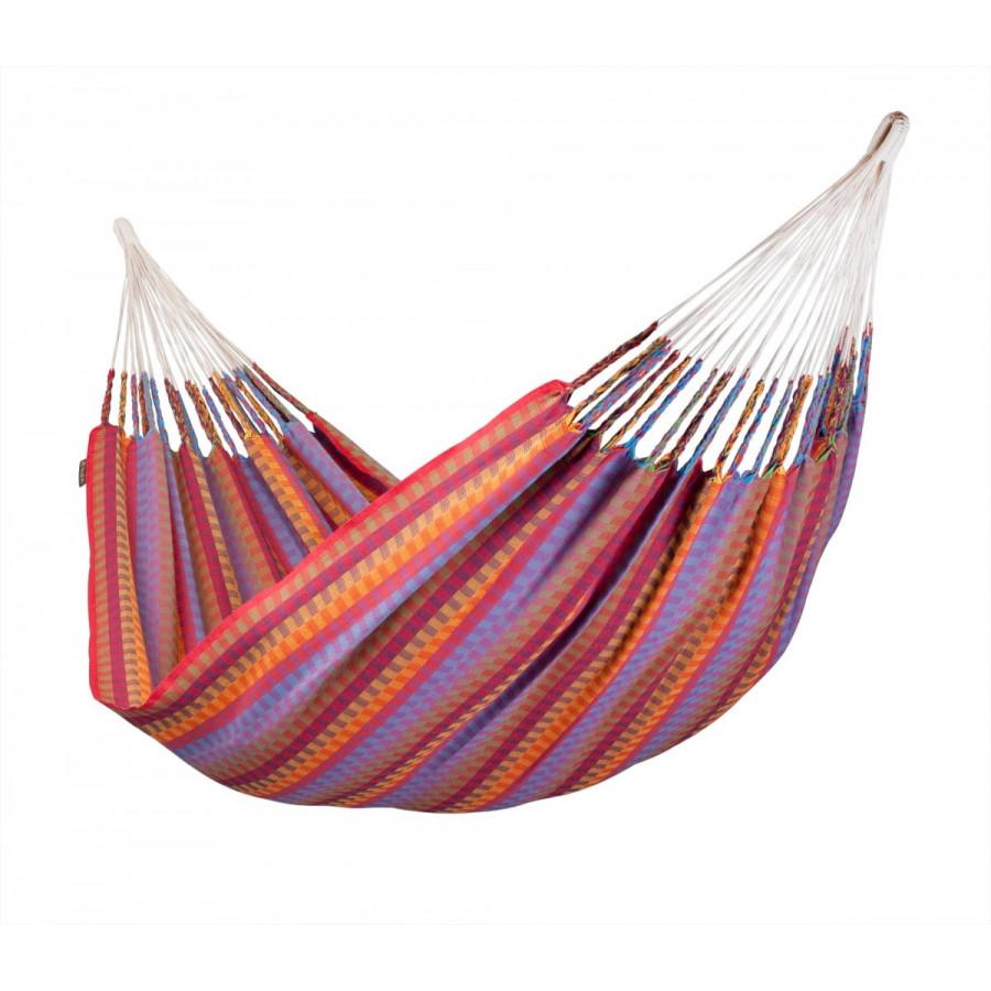 Viseča mreža Carolina z unikatnimi kolumbijskimi vzorci in zanimivimi barvami