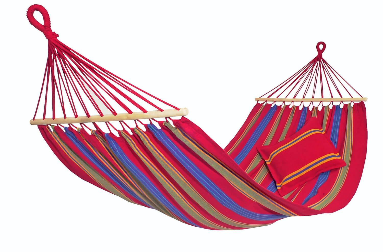 Dvojna zunanja viseča mreža s palicami ARUBA Cayenne