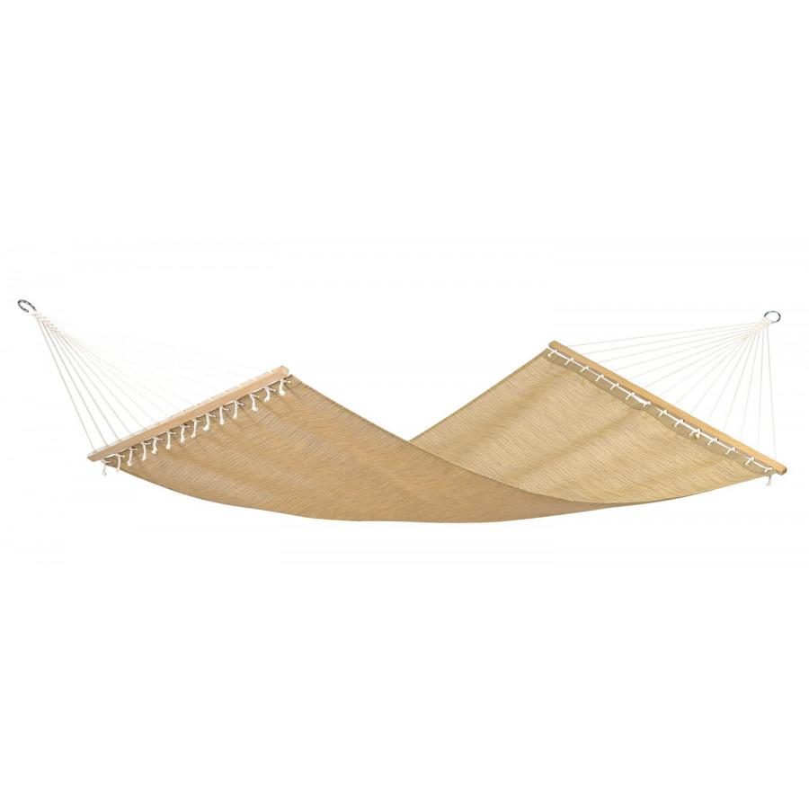 Dvojna zunanja viseča mreža s palicami TROPIC DREAM Textilene