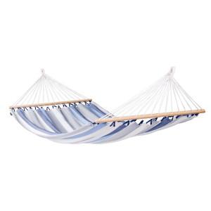 Dvojna zunanja viseča mreža z robnimi palicami ALISIO Sea Salt