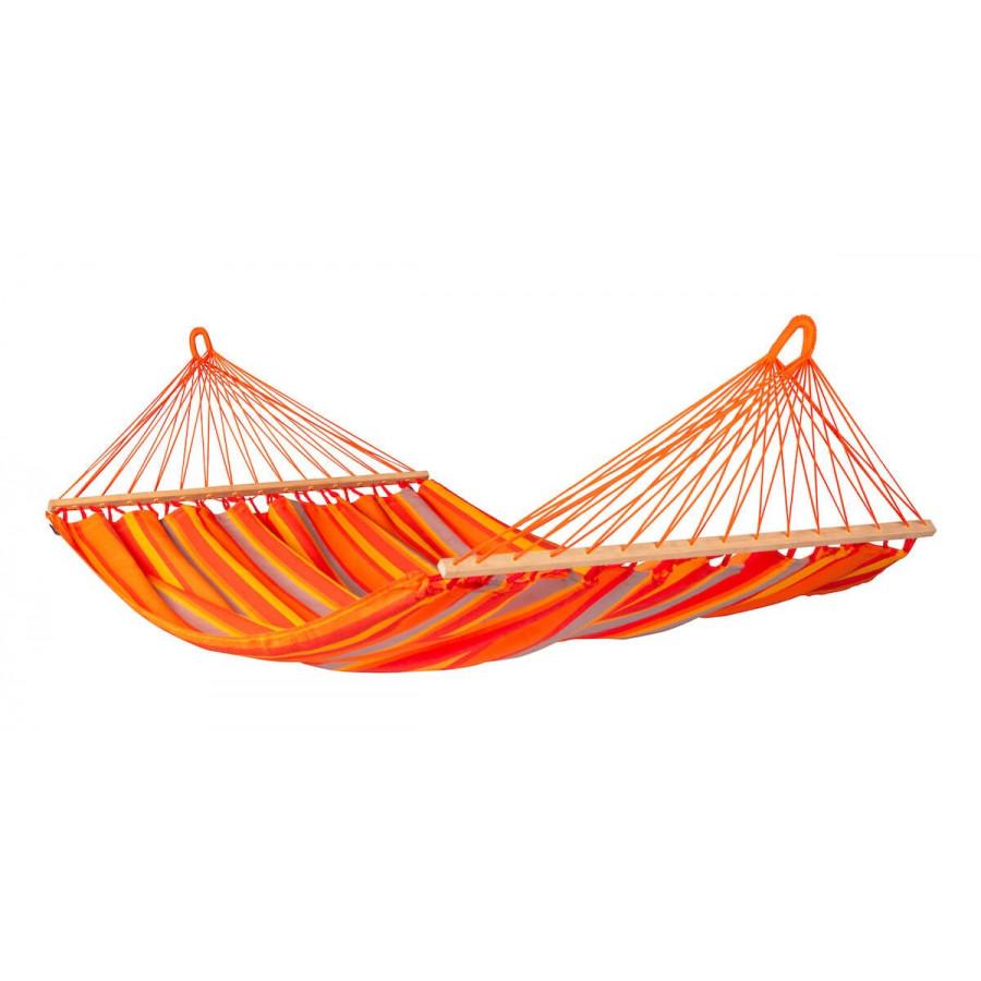 Dvojna zunanja viseča mreža z robnimi palicami ALISIO Toucan
