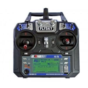 FLYSKY FS-i6 6KANALNI ODDAJNIK+SPREJEMNIK iA6 Z TELEMATRIJO - Oddajnik je v paketu s 6-kanalnim sprejemnikom FlySky FS-I6 in oskrba z električno energijo je