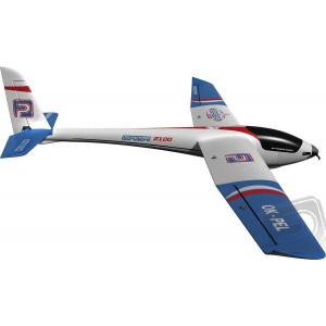 GAMA 2100 RTF M2 4CH-BREZKRTAČNI-PELIKAN - Razpon kril [mm]: 2100; Dolžina [mm]: 1230; Teža [g]: 1150 - 1300; Površina krila [dm2]: 37