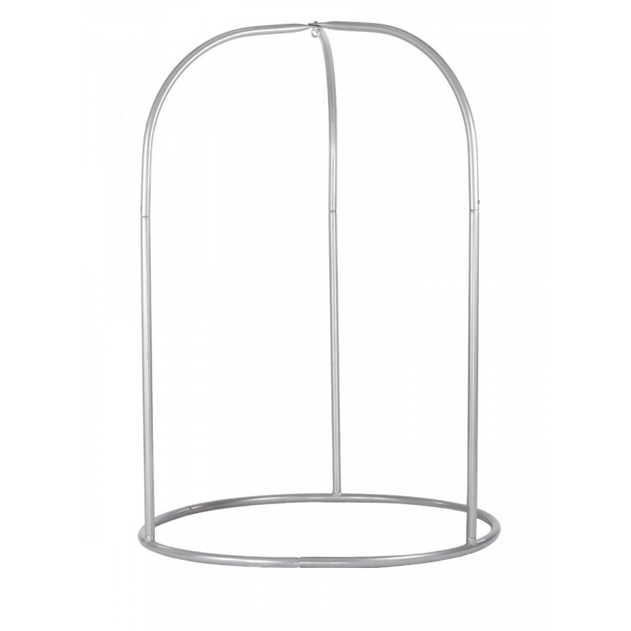 Stojalo Romano Silver s prostornim dizajnom in podpornim ogrodjem omogoča stabilnost in prosto gibanje. Izdelano je iz prašno lakiranega jekla
