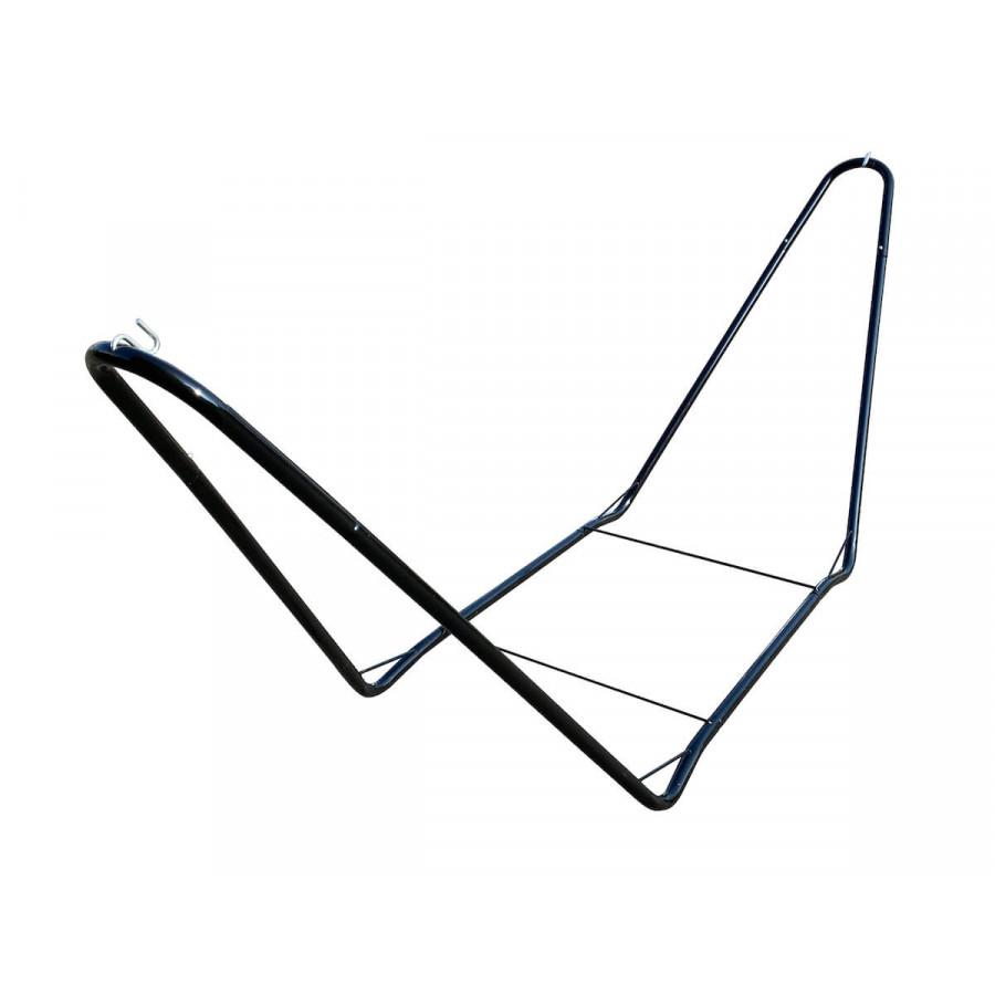 Kovinsko stojalo za visečo mrežo CHILLOUNGE - Black