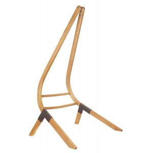 Leseno stojalo za comfort in veliki viseči stol Calma Nature