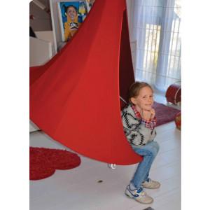 Otroški viseči šotor CACOON BEBO Chili Red
