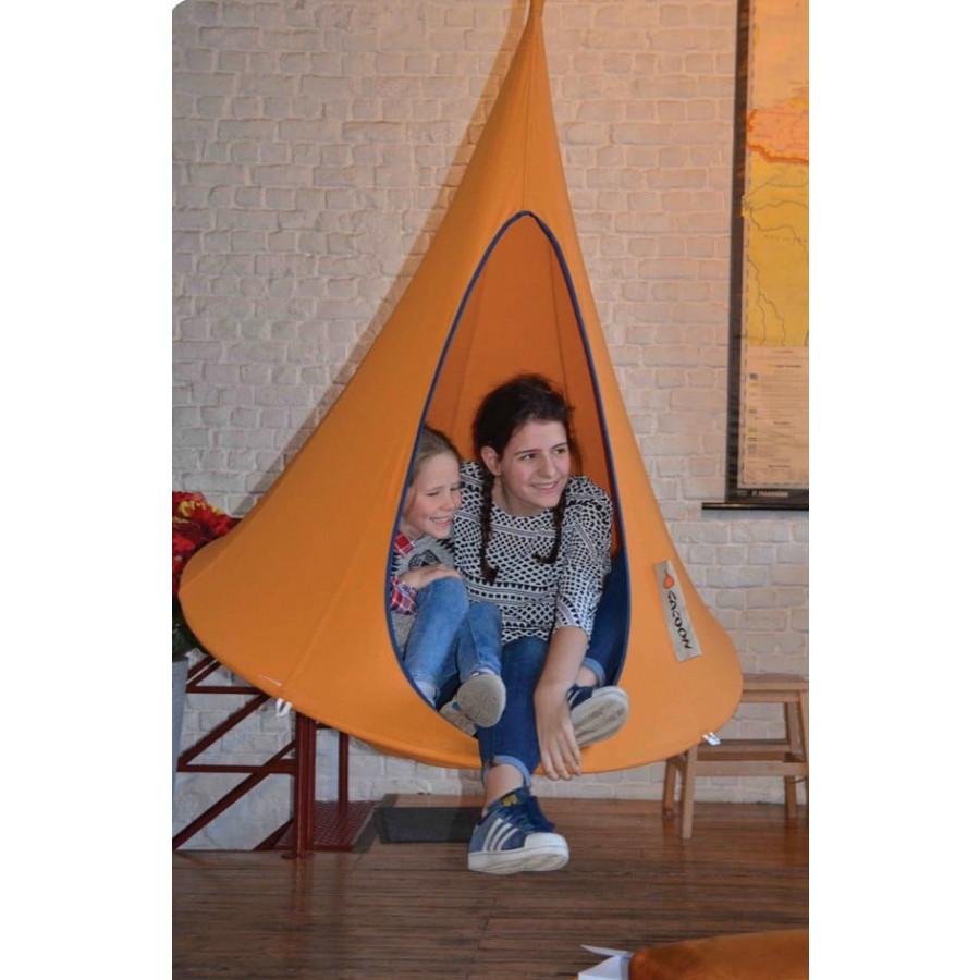 Otroški viseči šotor CACOON BEBO Orange Mango
